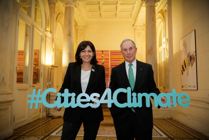 We've been mayors of New York, Paris and Rio. We know climate action starts with cities.