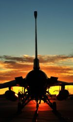 An F-16 Fighting Falcon from the 180th Figher Wing sits on the flightline at Tyndall Air Force Base, Fla., Sept. 18, before morning sorties. About 120 Airmen from the 180th FW traveled to Tyndall Air Force Base, Fla., to participate in the Combat Archer exercise, a weapons system evaluation program designed to test the effectiveness of our Airmen and air-to-air weapon system capability of our F-16s and other combat aircraft. Training allows our pilots to provide a vital link for the defense of our country.