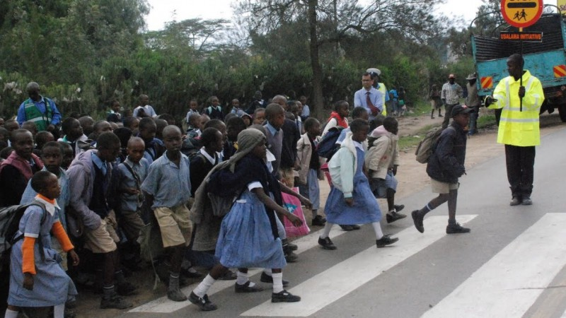 """Make Walking Safe"", the Second UN Global Road Safety Week is being celebrated worldwide beginning May 6, 2013"