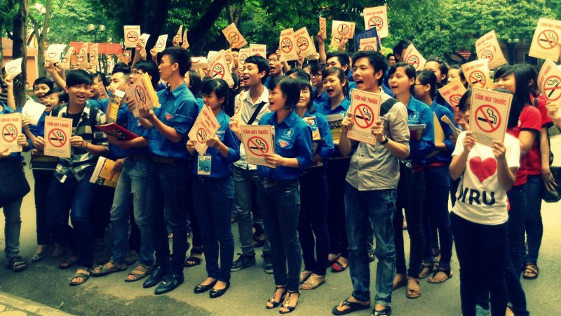 Anti-Tobacco Activities in Vietnam.