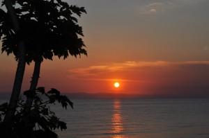 Lake Tanganyika Sunset