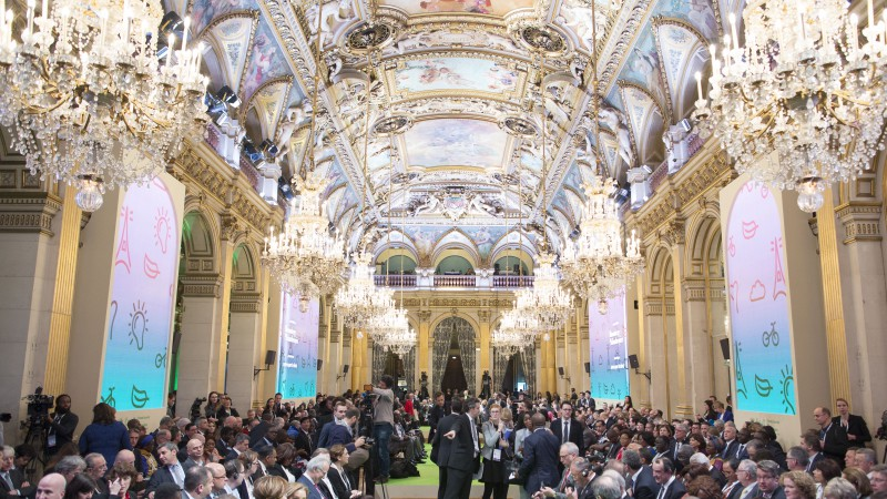 Hundreds of mayors joined Mayor @AnneHidalgo and @MikeBloomberg in #Paris for the #Cities4Climate Summit to highlight the important steps local leaders are taking to fight #ClimateChange around the world. #COP21