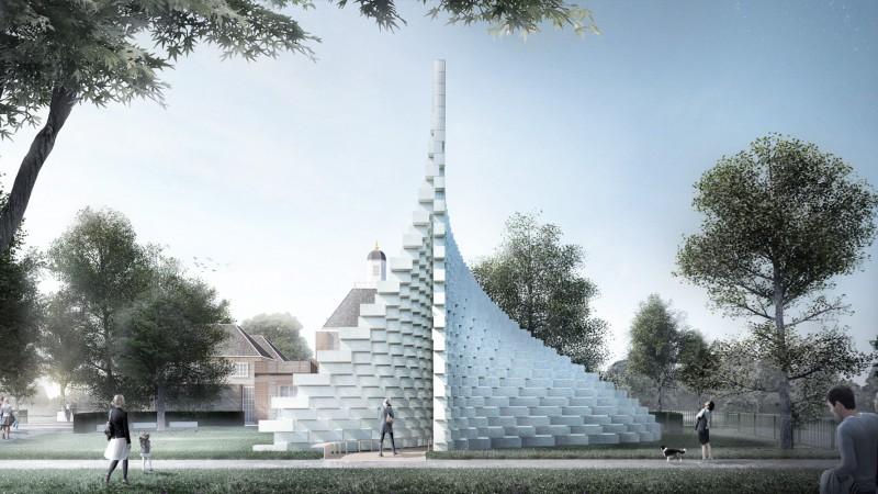 Serpentine Pavilion 2016 designed by Bjarke Ingels Group (BIG)