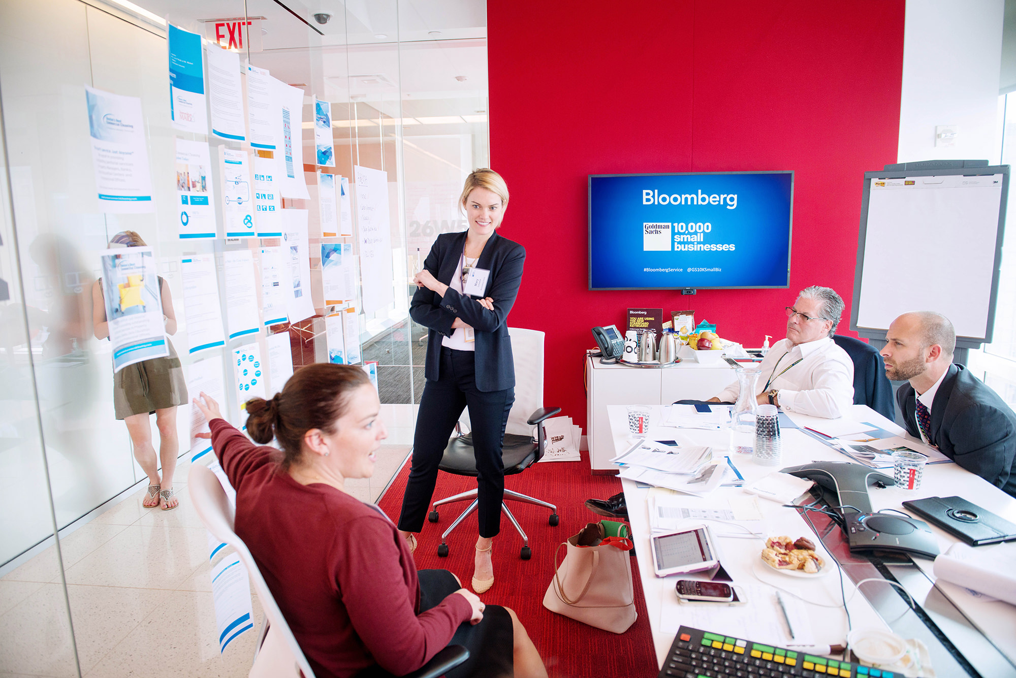 Expansion of Bloomberg and Goldman Sachs' 10,000 Small Businesses Coaching Session Program