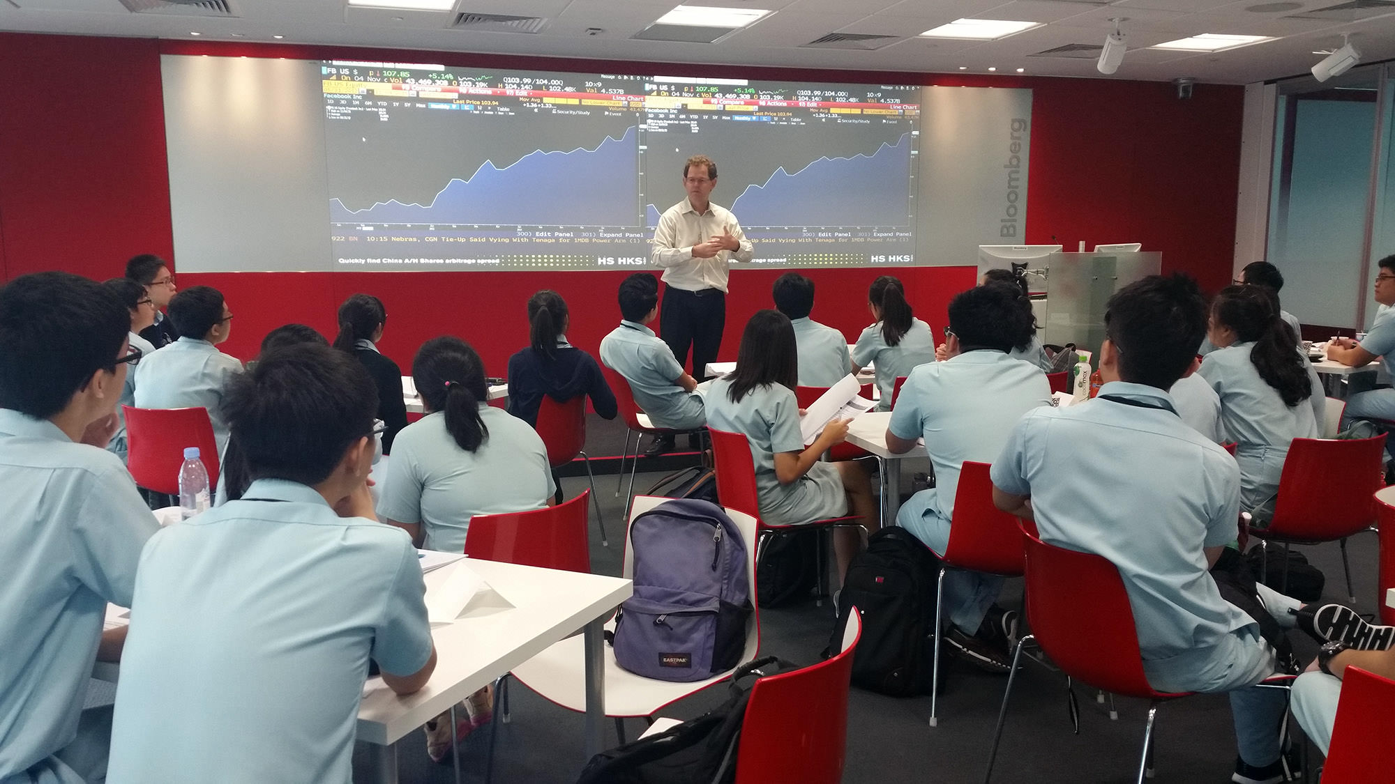 Bloomberg Startup in Singapore