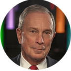 Michael Bloomberg, Bloomberg L.P. and Bloomberg Philanthropies, Founder