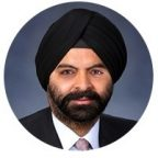 Ajay Banga, Mastercard, President and CEO