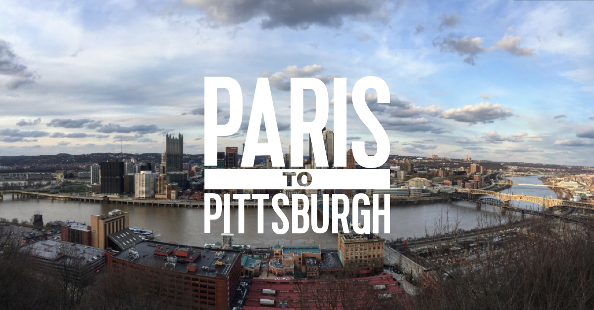 Image result for paris to pittsburgh