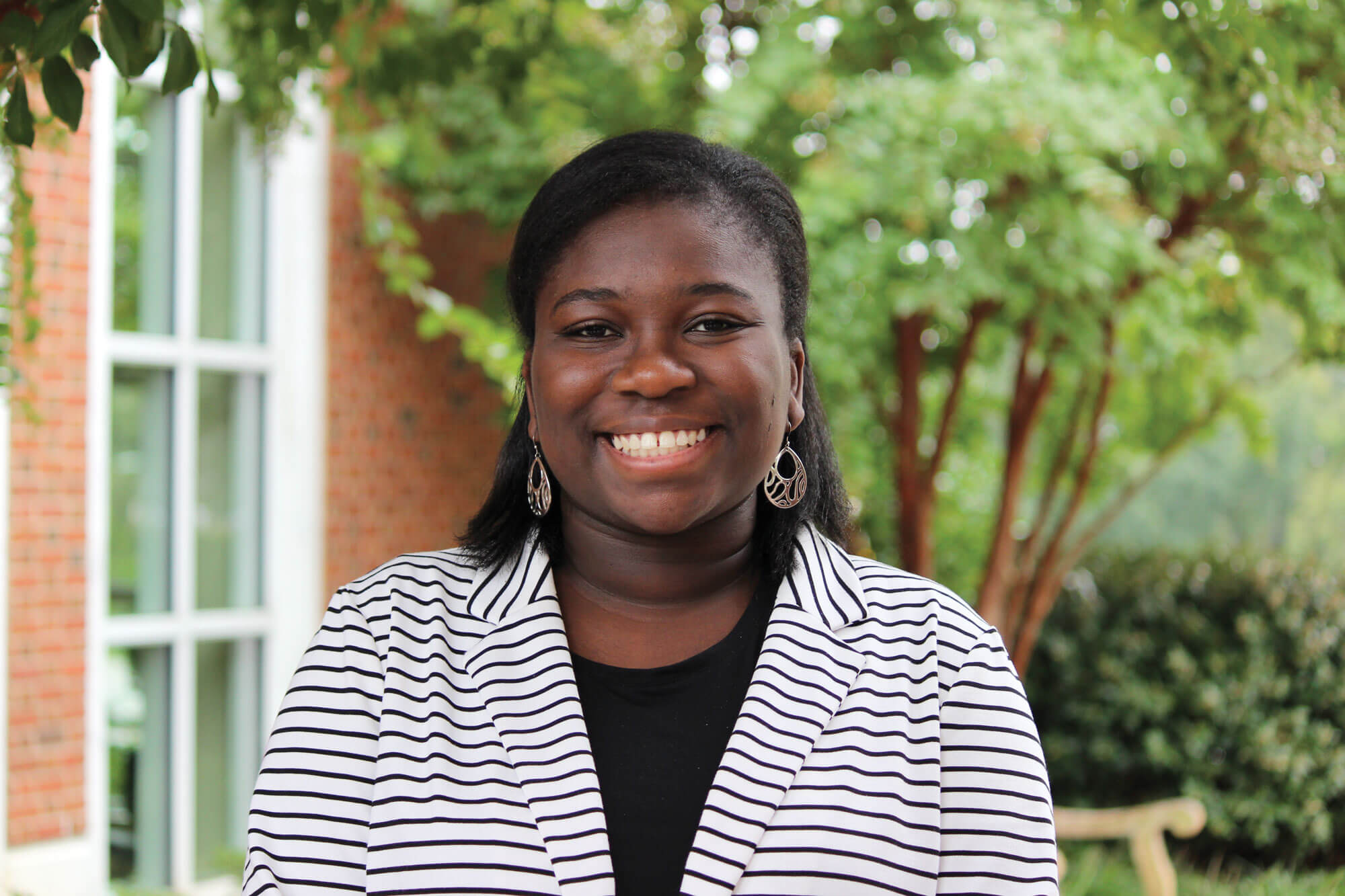 Damali Egyen-Davis Johns Hopkins Bloomberg Scholar '19