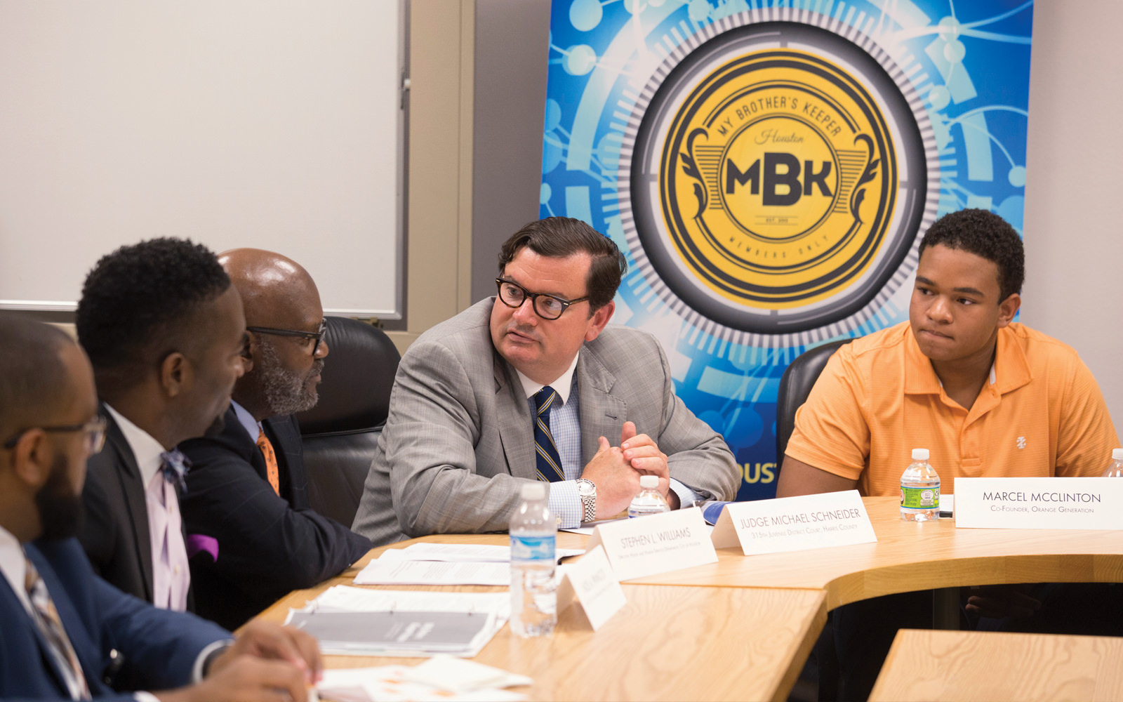 Local leaders and key contributors to My Brother's Keeper Houston discuss the program's impact on young men across the city following the release of a report detailing its successes.