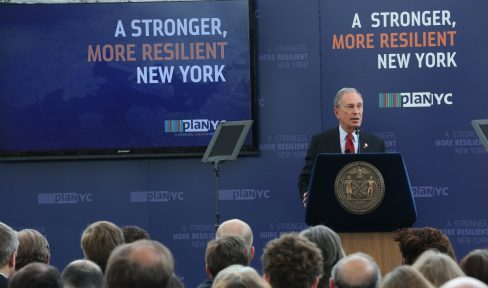 Following Hurricane Sandy, Mayor Bloomberg releases a Special Initiative for Rebuilding and Resiliency, a $20 billion plan to protect New York City against the impacts of climate change.