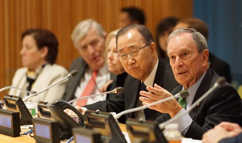 UN Secretary-General Ban Ki-moon appoints Mike Bloomberg as his first Special Envoy for Cities and Climate Change, signaling cities' significant role in keeping the planet from warming.