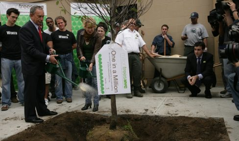 October 2009 Million Trees 1st Planting