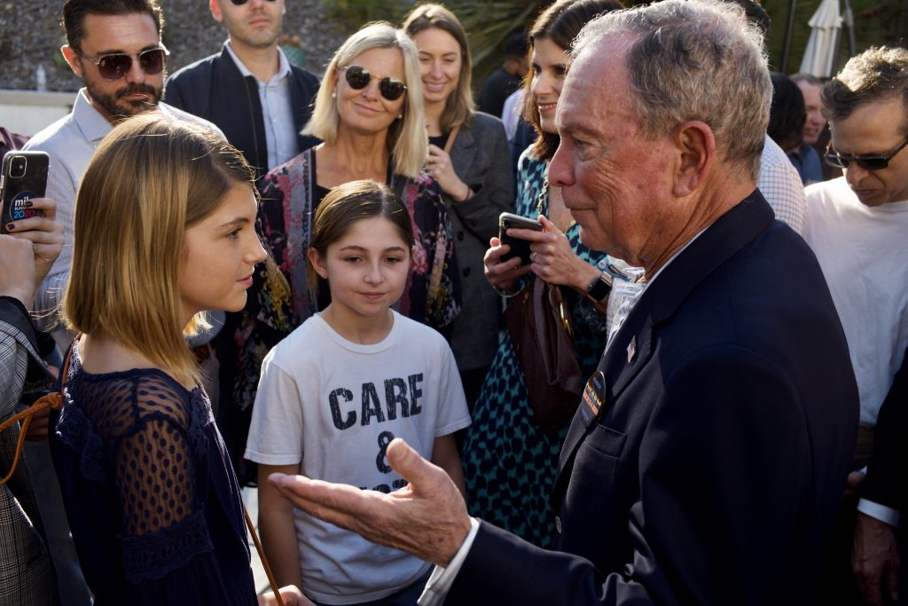 Mike Bloomberg Visits San Diego and Riverside, CA