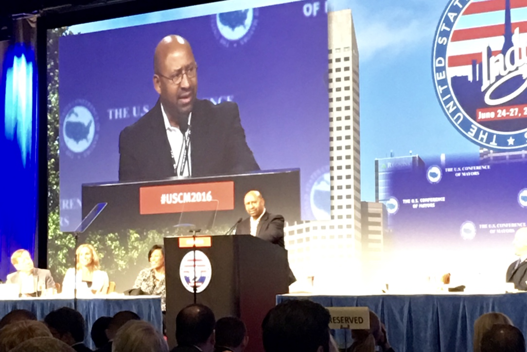 Former Mayor of Philadelphia and WWC Senior Fellow Michael Nutter, at USCM