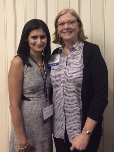 (Left-right) WWC Executive Director Brody with Mayor of Raleigh, North Carolina, Nancy McFarlane
