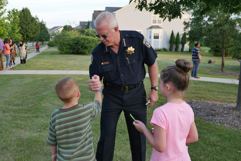 Naperville Police Chief Robert Marshall