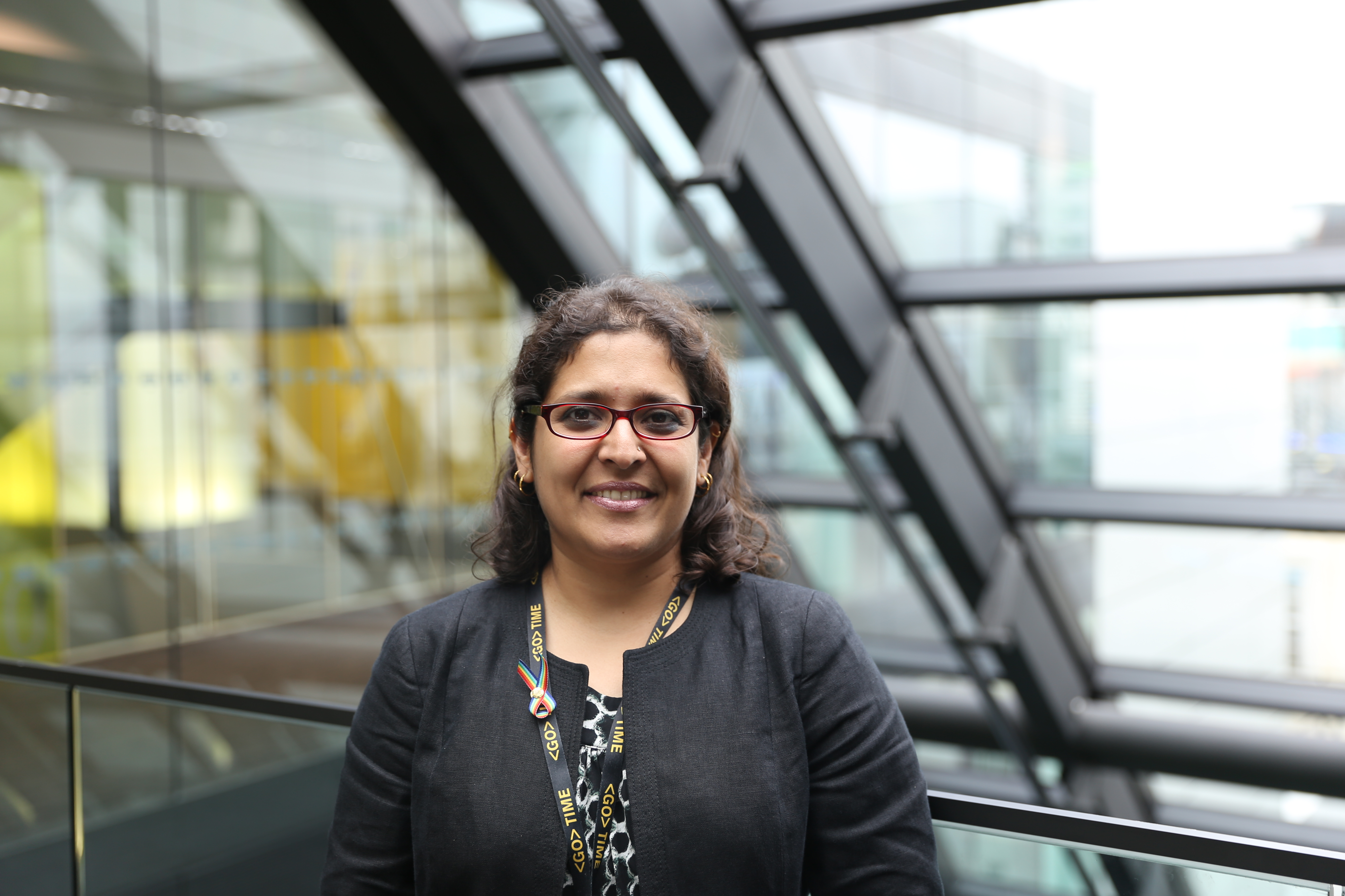 Bloomberg's Panna Pavangadkar will be a panelist next week at Grace Hopper Celebration India (GHCI) in Bangalore.