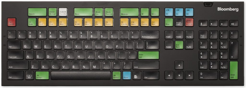 A Look Back The Bloomberg Keyboard Tech At Bloomberg