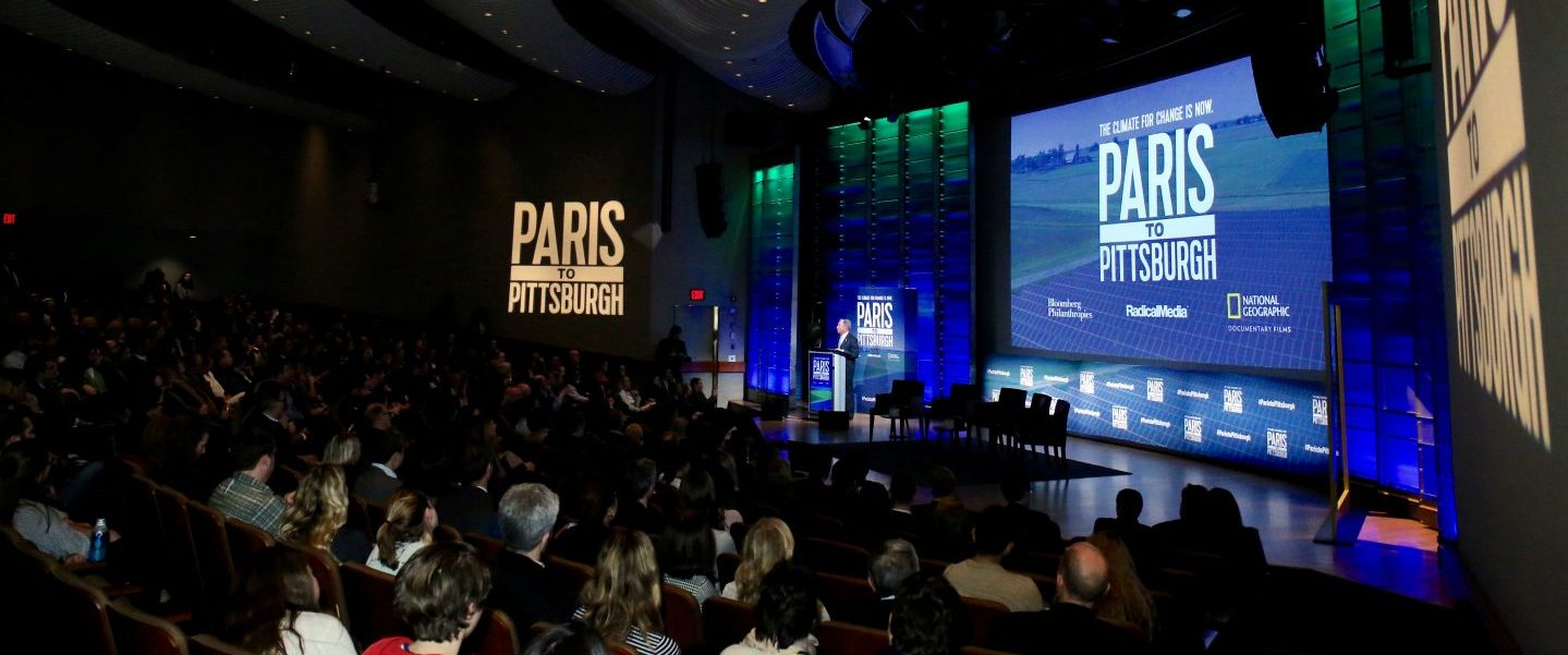 Mike Bloomberg Delivers Remarks at Special Screening of Paris to Pittsburgh in Washington, D.C. - Mike Bloomberg