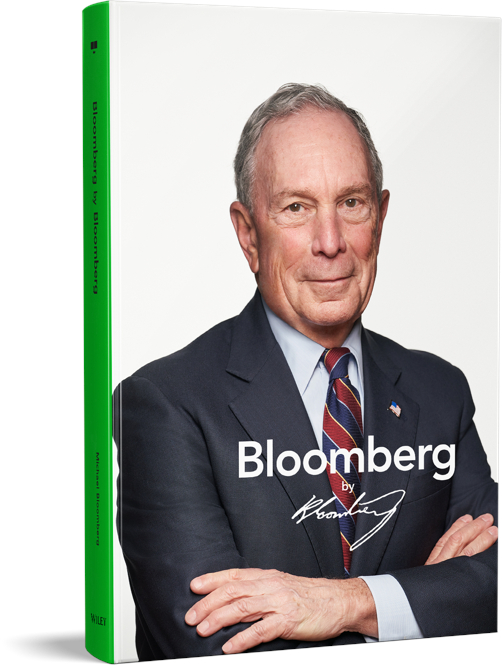 Hardcover copy of Bloomberg by Bloomberg