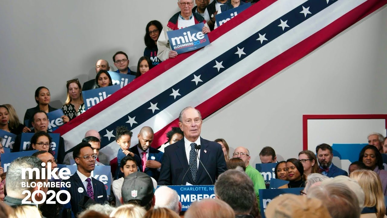 Mike Bloomberg Opens First State Headquarters in Charlotte, NC