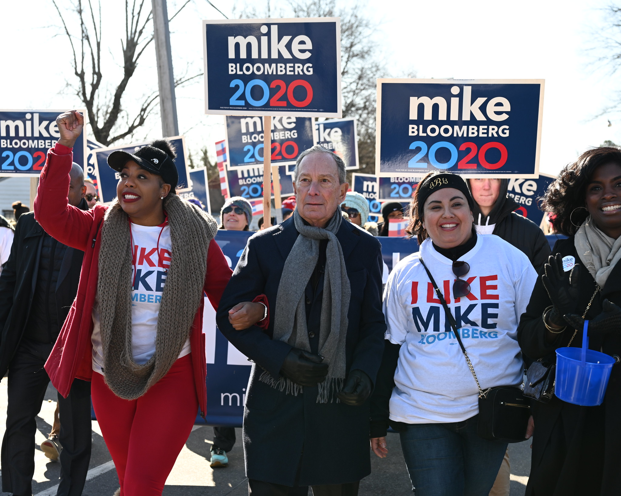 Mike attends an MLK Day Parade in Little Rock, AK