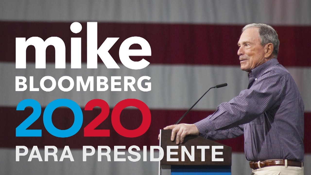 Bloomberg's First Spanish Language Ad: Mike para Presidente