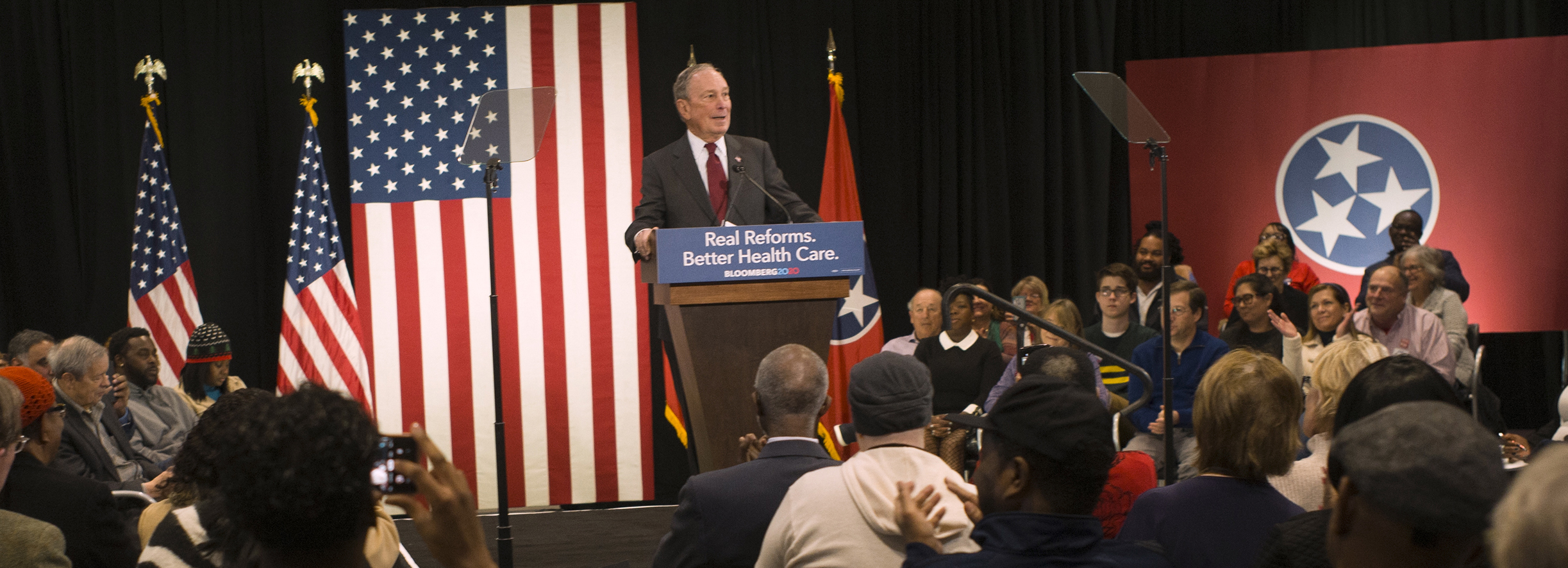 Mike comes to Memphis, Tennessee, to unveil his agenda for better, affordable health care.
