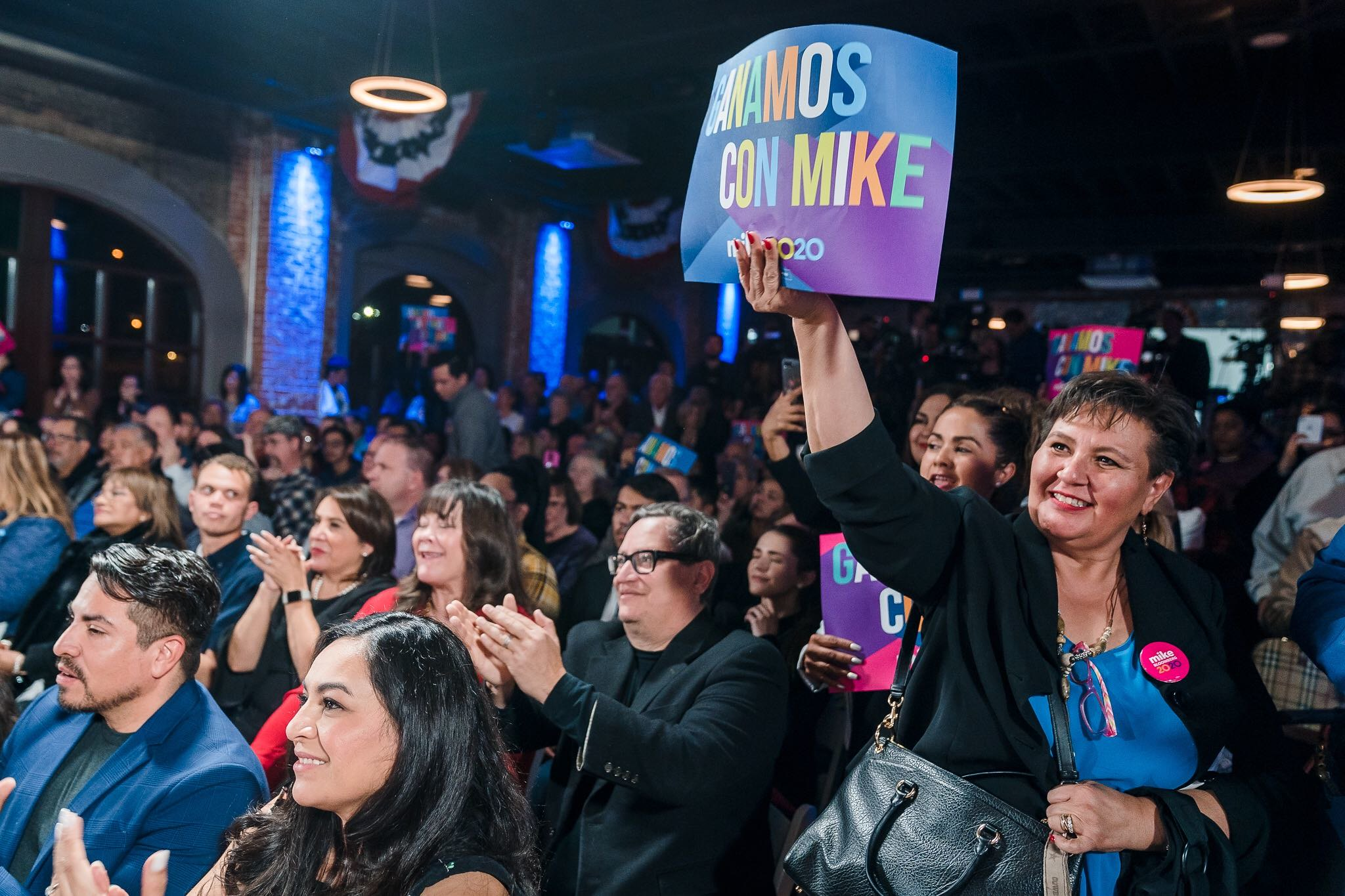 """Mike unveiled """"El Paso Adelante"""" — his plan to invest in Latino communities"""