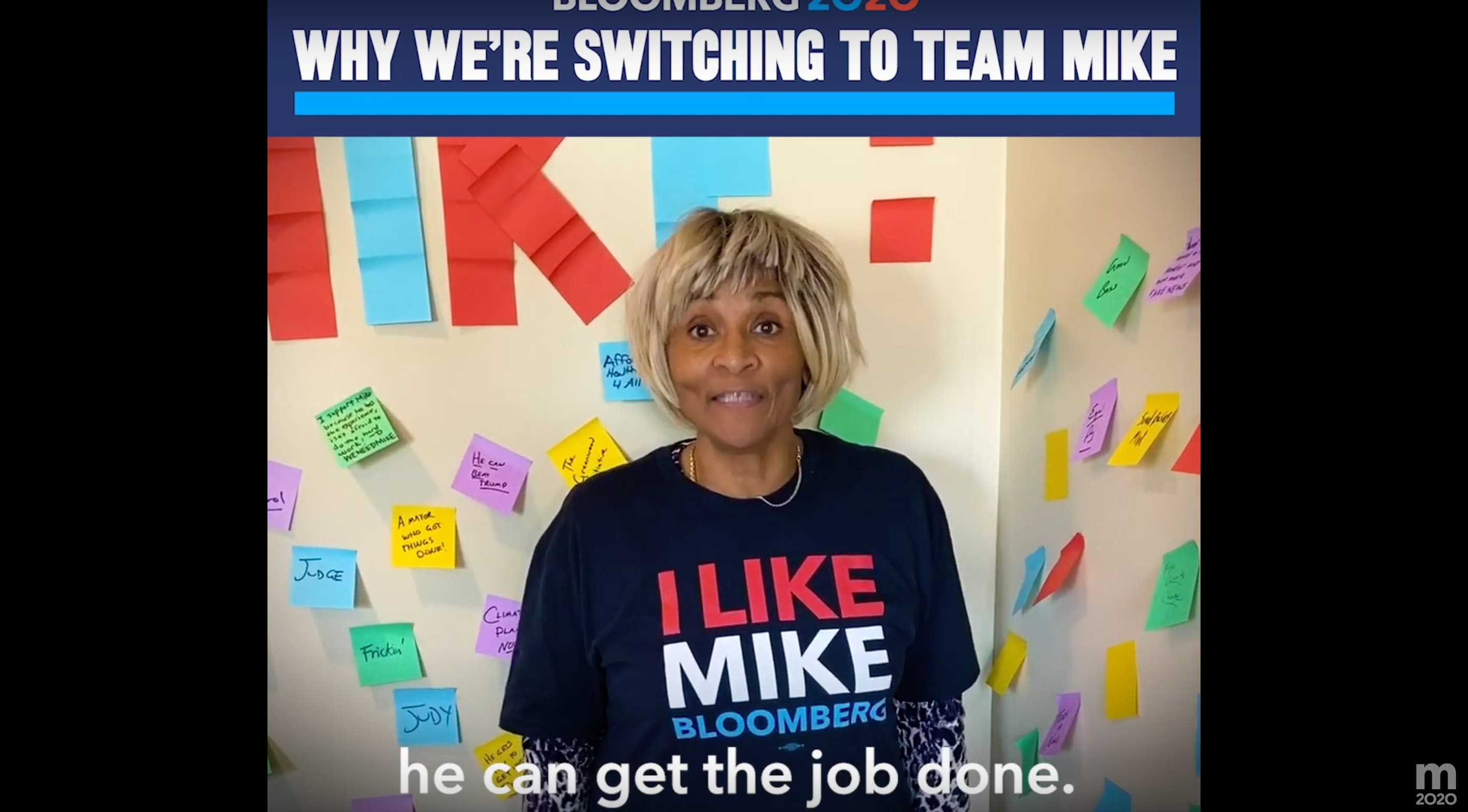 Voters Switch To Mike (Ad)