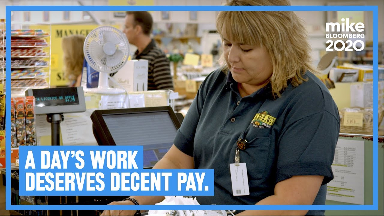 A Day's Work Deserves Decent Pay (Ad)