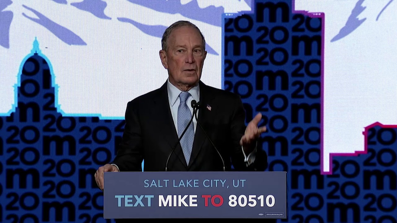Mike Delivers Speech in Salt Lake City, Utah (Live Stream)