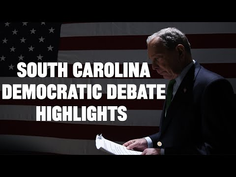 South Carolina Democratic Debate Highlights (Video)