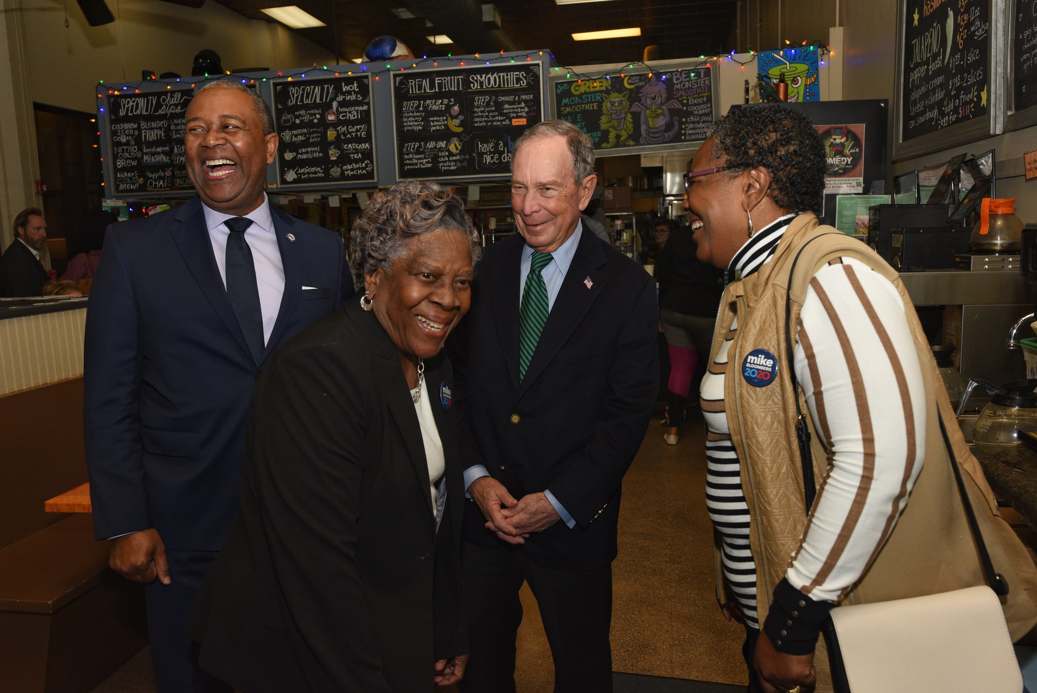 Mike Bloomberg Visits Augusta, GA