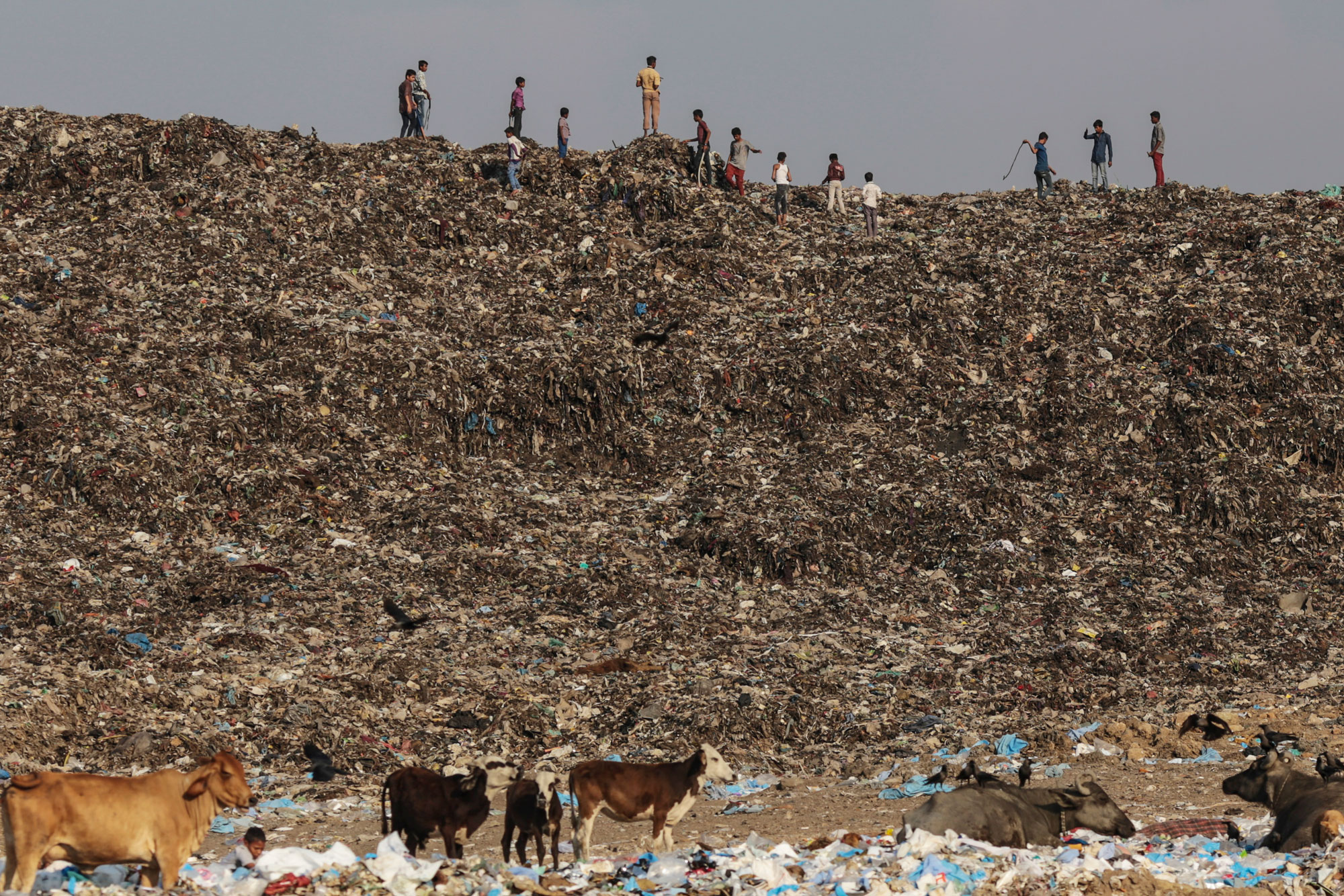 an overview of the largest landfill in the world the fresh kills landfill We rounded up a list of the top 10 biggest landfills  one of california's largest landfills, frank bowerman also boasts the world's first landfill gas-to-lng.