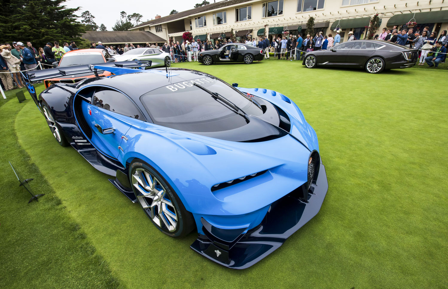 the most beautiful cars from the pebble beach concours d